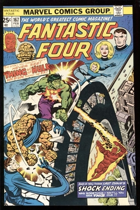 Picture of FANTASTIC FOUR (1961) #167 9.0 VF/NM