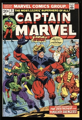 Picture of CAPTAIN MARVEL (1968) #31 9.4 NM