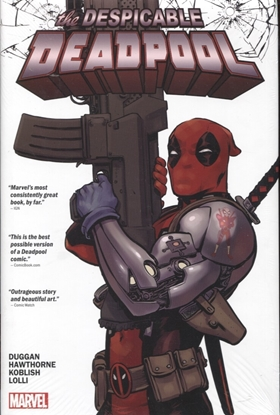 Picture of DESPICABLE DEADPOOL HC