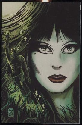 Picture of ELVIRA SHAPE OF ELVIRA #2 10 COPY FRANCAVILLA VIRGIN (NET)