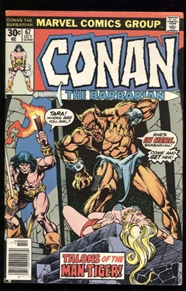 Picture of CONAN THE BARBARIAN (1970) #67 6.0 FN