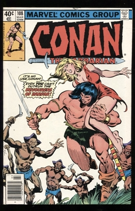 Picture of CONAN THE BARBARIAN (1970) #108 9.2 NM-