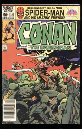 Picture of CONAN THE BARBARIAN (1970) #129 8.0 VF