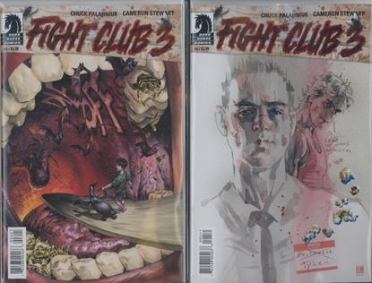 Picture of FIGHT CLUB 3 #4 CVR A B 2 COVER SET NM
