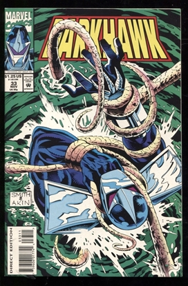 Picture of DARKHAWK (1991) #33 9.6 NM+