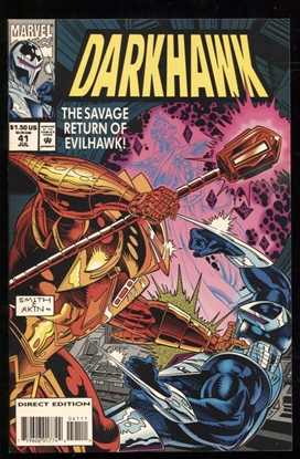 Picture of DARKHAWK (1991) #41 9.6 NM+