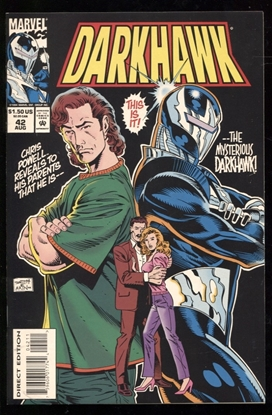 Picture of DARKHAWK (1991) #42 9.6 NM+