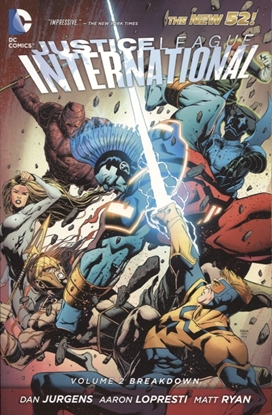 Picture of JUSTICE LEAGUE INTERNATIONAL (N52) VOL 2 BREAKDOWN TP