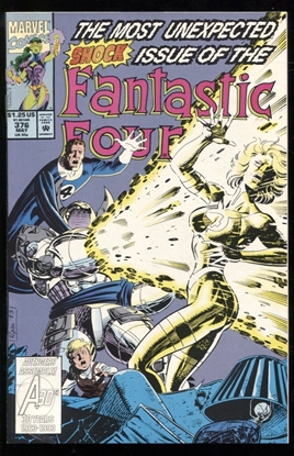 Picture of FANTASTIC FOUR (1961) #376 9.6 NM+