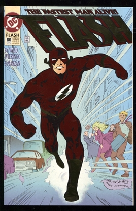 Picture of FLASH (1987) #80 9.6 NM+ FOIL COVER