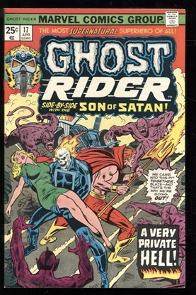 Picture of GHOST RIDER (1973) #17 9.0 VF/NM