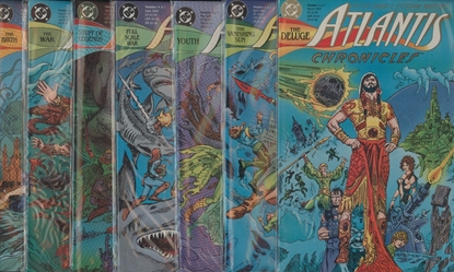 Picture of ATLANTIS CHRONICLES #1 2 3 4 5 6 7 #1-7 COMPLETE SET HIGH GRADE