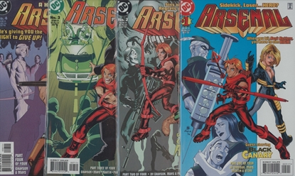 Picture of ARSENAL (1998) #1-4 VF/NM SET