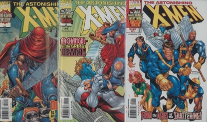 Picture of ASTONISHING X-MEN (1999) #1-3 VF/NM SET