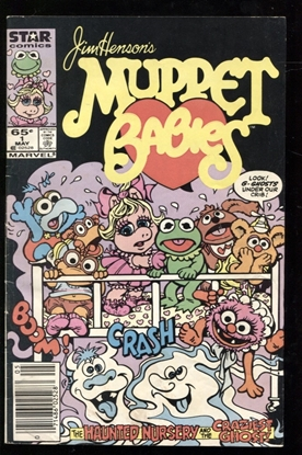 Picture of MUPPET BABIES (1985) #1 4.0 VG