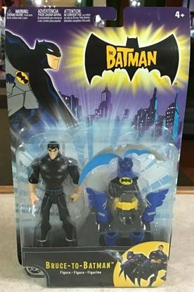 Picture of MATTEL DC THE BATMAN BRUCE-TO-BATMAN ACTION FIGURE