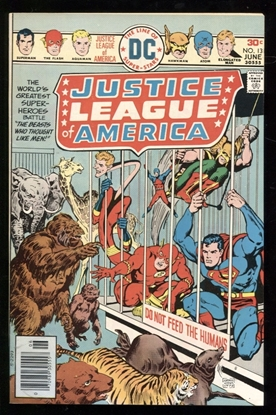 Picture of JUSTICE LEAGUE OF AMERICA (1960) #131 9.0 VF/NM