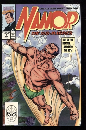 Picture of NAMOR THE SUB-MARINER (1990) #1 9.6 NM+
