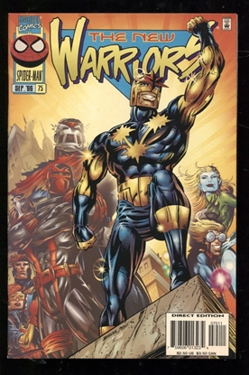 Picture of NEW WARRIORS (1990) #75 9.2 NM-