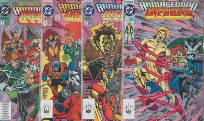 Picture of ARMAGEDDON INFERNO #1-4