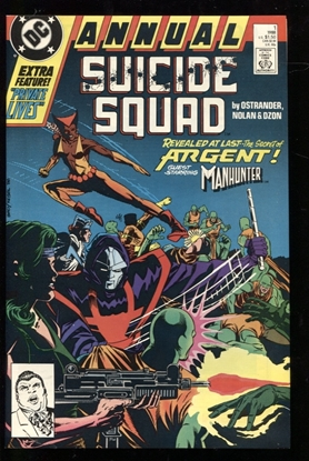 Picture of SUICIDE SQUAD (1987) ANNUAL #1 9.6 NM+