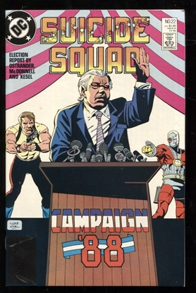Picture of SUICIDE SQUAD (1987) #22 9.6 NM+