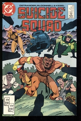 Picture of SUICIDE SQUAD (1987) #24 9.6 NM+