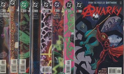 Picture of ANARKY (1999) #1-8 SET VF/NM