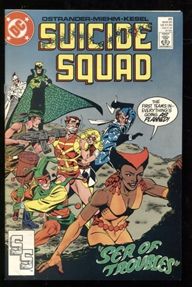Picture of SUICIDE SQUAD (1987) #25 9.6 NM+