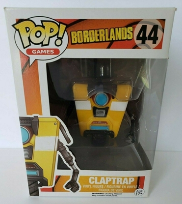 Picture of FUNKO POP GAMES BORDERLANDS CLAPTRAP #44 NEW VINYL FIGURES