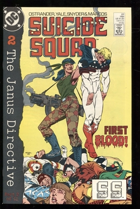 Picture of SUICIDE SQUAD (1987) #27 9.6 NM+