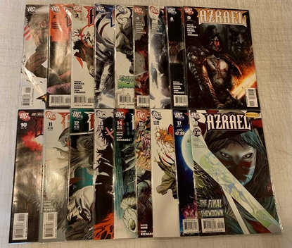 Picture of AZRAEL (1999) #1-18 SET VF/NM