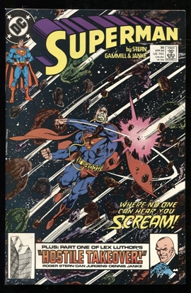 Picture of SUPERMAN (1987) #30 9.6 NM+