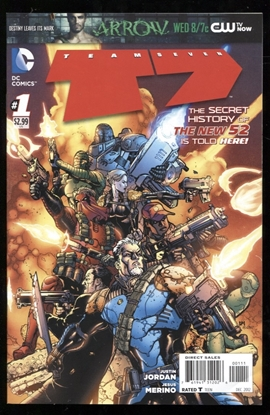 Picture of TEAM 7 (2012) (N52) #1 9.0 VF/NM