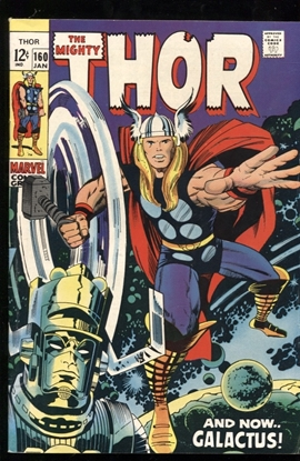 Picture of THOR (1962) #160 7.0 FN/VF