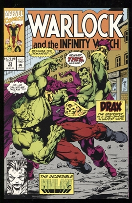 Picture of WARLOCK AND THE INFINITY WATCH (1991) #13 9.4 NM