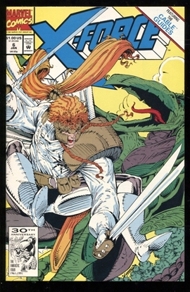 Picture of X-FORCE (1991) #6 9.6 NM+