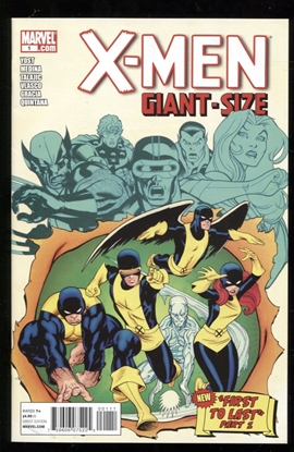 Picture of X-MEN GIANT SIZE (2011) #1 9.4 NM