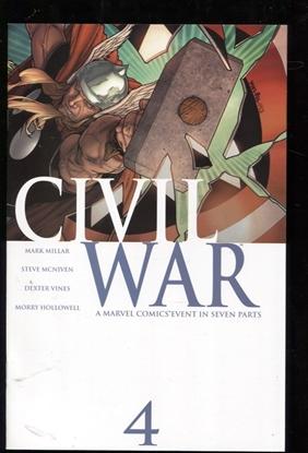 Picture of CIVIL WAR (2006) #4 9.6 NM+