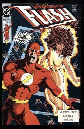 Picture of FLASH (1987) #39 9.2 NM-