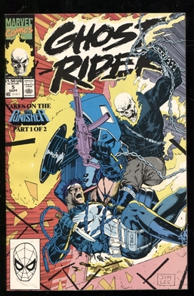 Picture of GHOST RIDER (1990) #5 9.4 NM