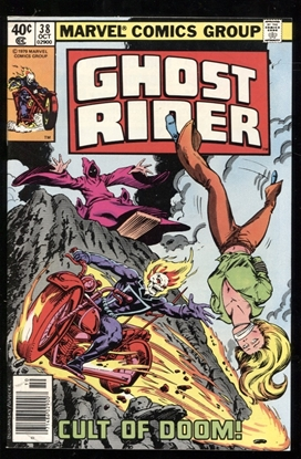 Picture of GHOST RIDER (1973) #38 9.2 NM-