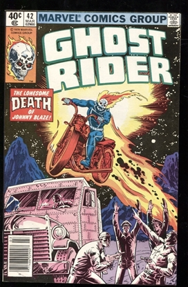 Picture of GHOST RIDER (1973) #42 9.4 NM
