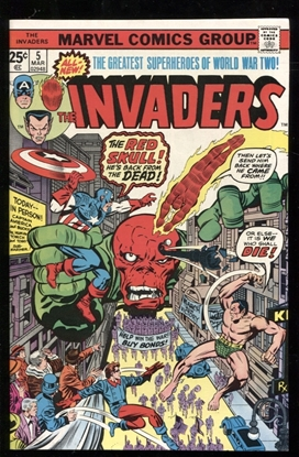 Picture of INVADERS (1975) #5 9.0 VF/NM