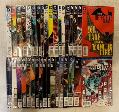 Picture of DETECTIVE COMICS (2011) #21-52 + ANNUALS #1 2 3  1ST PRINT SET VF/NM