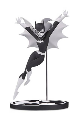 Picture of BATMAN BLACK & WHITE BATGIRL BY BRUCE TIMM STATUE