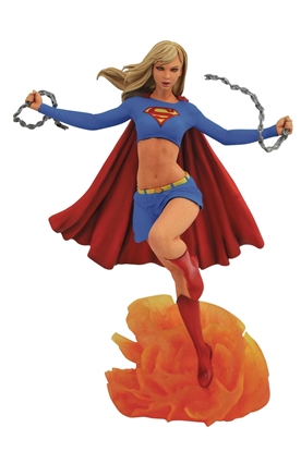 Picture of DC GALLERY SUPERGIRL COMIC PVC FIGURE (C: 1-1-2)