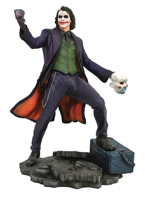 Picture of DC GALLERY BATMAN DARK KNIGHT MOVIE JOKER PVC FIGURE (C: 1-1