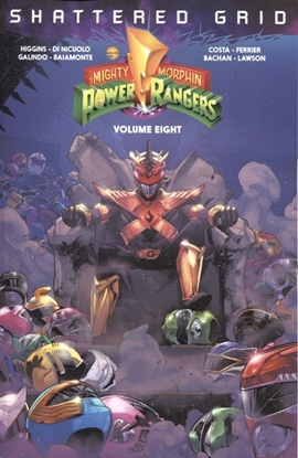 Picture of MIGHTY MORPHIN POWER RANGERS TP VOL 08 SG