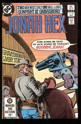 Picture of JONAH HEX (1977) #68 9.6 NM+